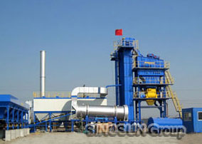 SINOSUN asphalt batch mix plant