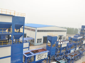 SINOSUN supply asphalt mixing plant